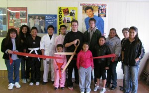 Ribbon Cutting - American Karate
